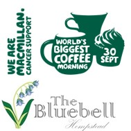 MacMillan Coffee Morning at Bluebell Inn